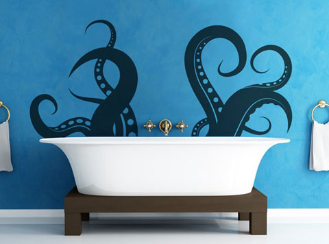 Tentacles-in-bath