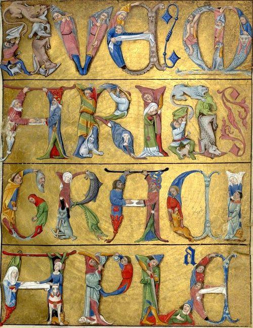 Acrostiche du Ave Maria