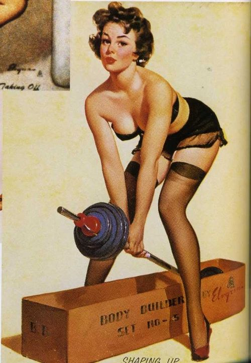 Strength pinup