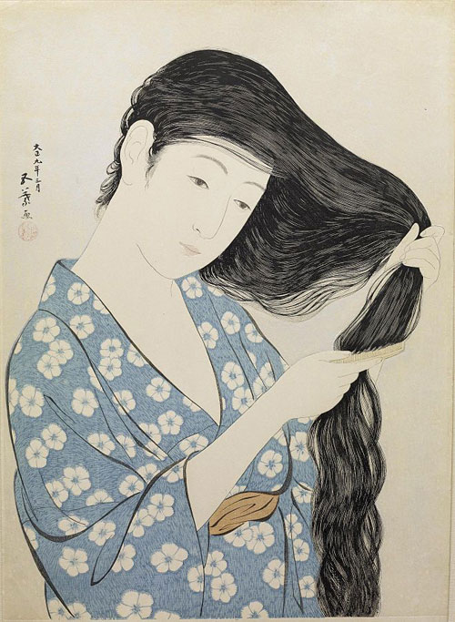 Hashiguchi_Goyo_-_Woman_in_