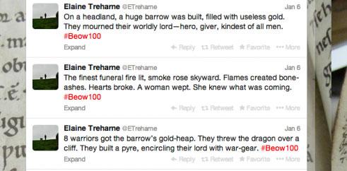 Beowulf-in-100-tweets-