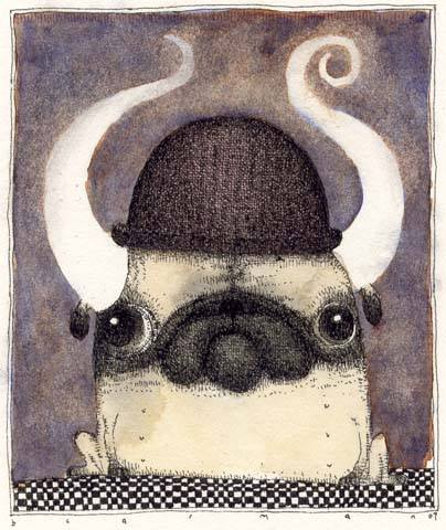 CarmanHorned Pug