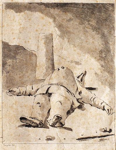 Tiepolo Pulcinella Sleeping