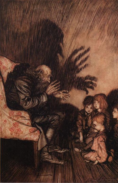 Storyteller Arthur Rackham