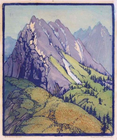 Frances Gearhart, A Sierra Spur, c. 1935