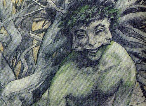 Brian Froud Three-Faced Man