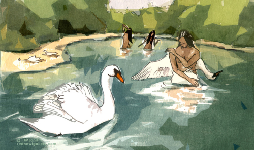 JMLanding Swan Maiden