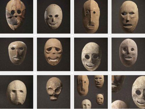 Neolithic Masks Jerusalem.
