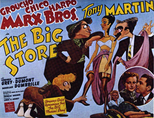 Marx Brothers Big Store