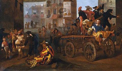 Jan Meil 1600s Commedia dell'Arte