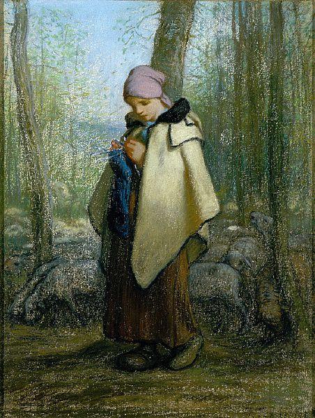 The Knitting Shepardess