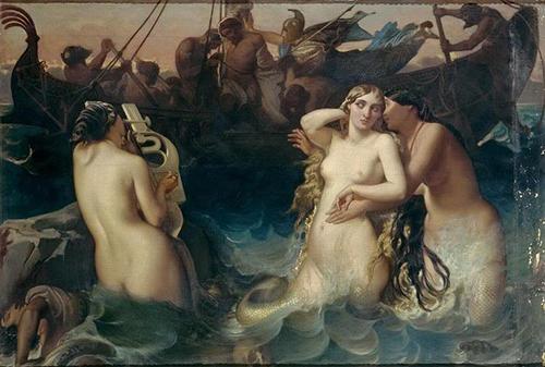 V. Mottez_Odysseus_Sirens