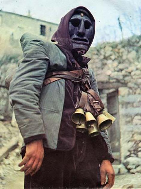 Italian Peasant in Mask 470