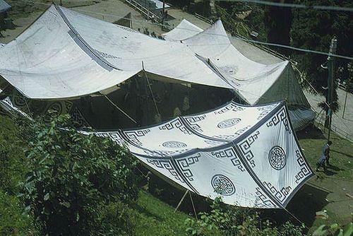 Lhamo Theatre Tents