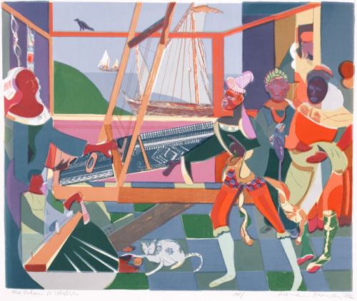 Romare Beardon Return of Odysseus