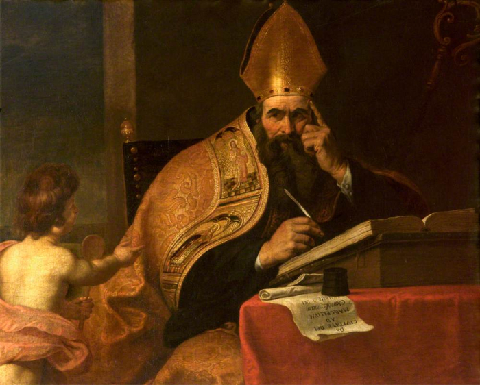 Gerard_Seghers_(attr)_-_The_Four_Doctors_of_the_Western_Church _Saint_Augustine_of_Hippo_(354–430)