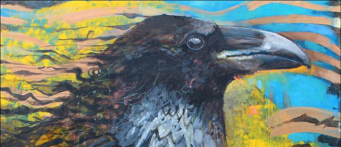 Mark Wagner Blue Crow 670