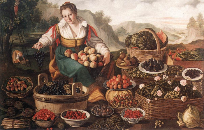Vincenzo Campi Fruit Seller 1536_1591