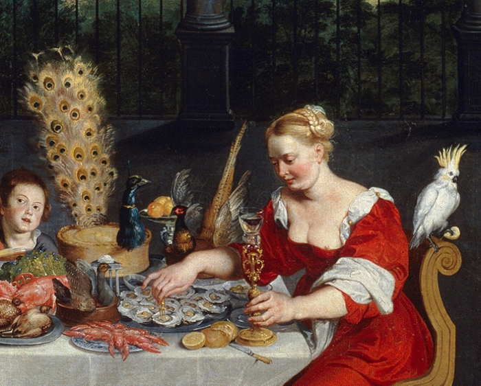 Peacock_served_in_full_plumage_(detail_of_BRUEGHEL_Taste _Hearing_and_Touch) (1)