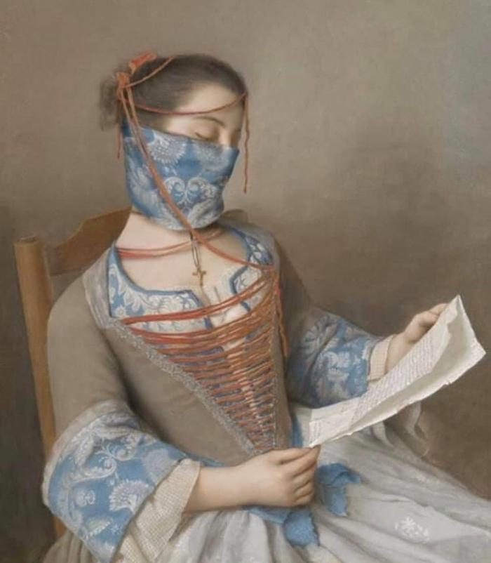 Étienne Liotard's 'La Liseuse'  1746