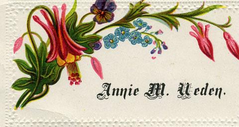Annie M. Weden