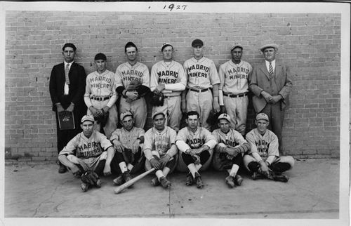 Madrid Miners Baseball Team, NM