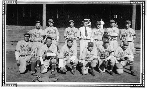 Madrid Miners Baseball Team, NM