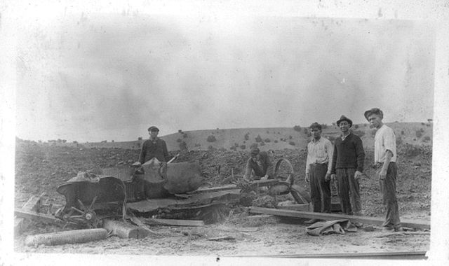 Madrid, NM 1925 Flood