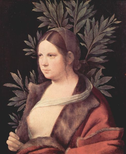 Portrait Of Laura, Giorgione,1506