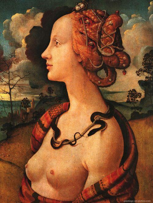 Simonetta Vespucci by Piero di Cosimo