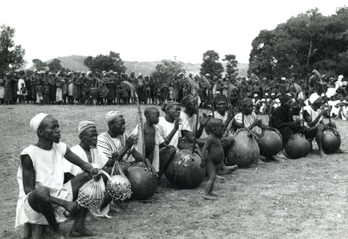 West African Jeli N'goni Players